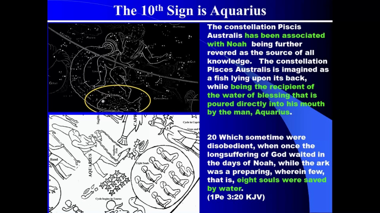 Meaning in the heavens, Aquarius relationship to the