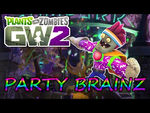 Legendary Party Brainz Gameplay - Plants vs Zombies Garden Warfare 2
