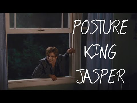 JASPER THE POSTURE KING (WATCHING BREAKING DAWN PT.1)