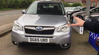 Review of A Subaru Forester XC