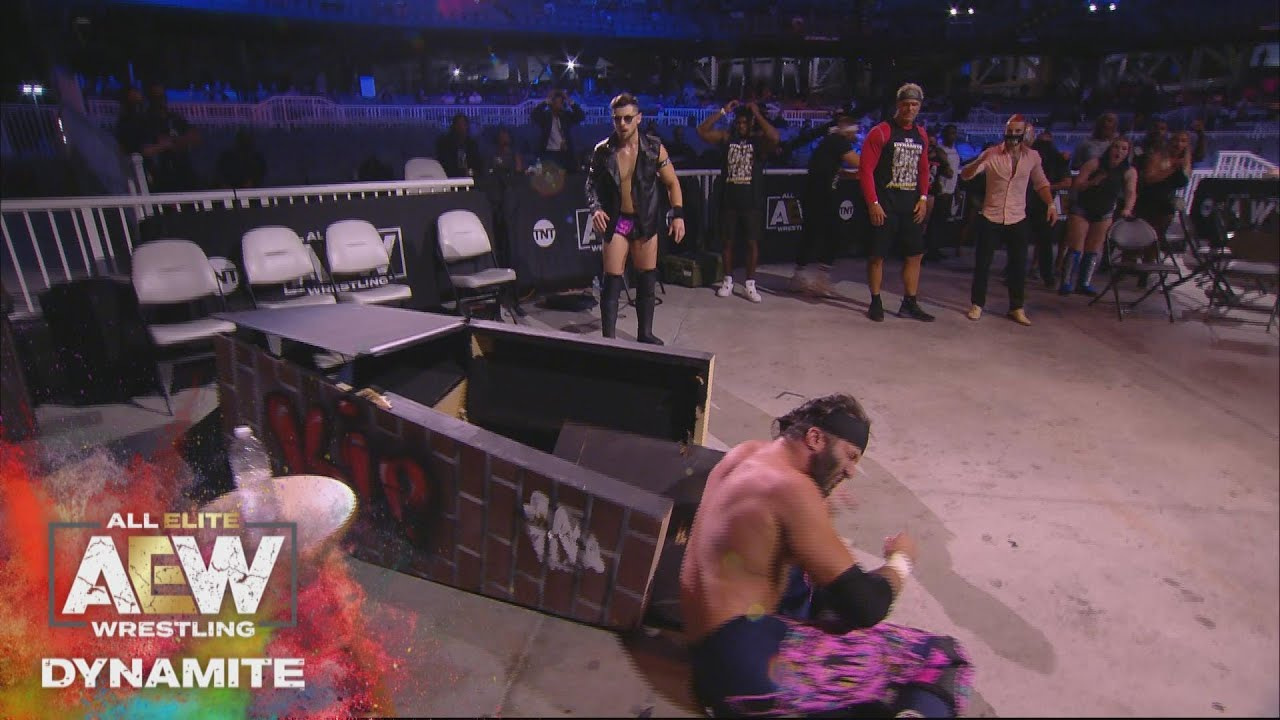 What Happened After Trent Ruined Miro's Video Game? | AEW Dynamite Anniversary Show, 10/14/20