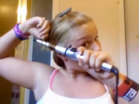 Burning My Hair Off -ORIGINAL VIDEO- (Hair Tutorial Gone Wrong)