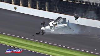 Kyle Kaiser Crash 2019 Indy 500 Practice