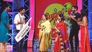 Super Star Junior- 5 | Epi - 72 | song by Bhavana, Sivani & Anjana | K.S Chithra as Guest