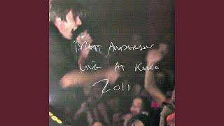 Leave Me Sleeping (Live) (Bonus Track)