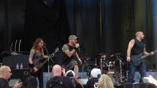 All That Remains - 'The Last TIme' Live at the Gorge!