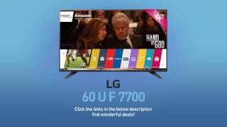 LG 60UF77004K UHD Smart LED TV - 60