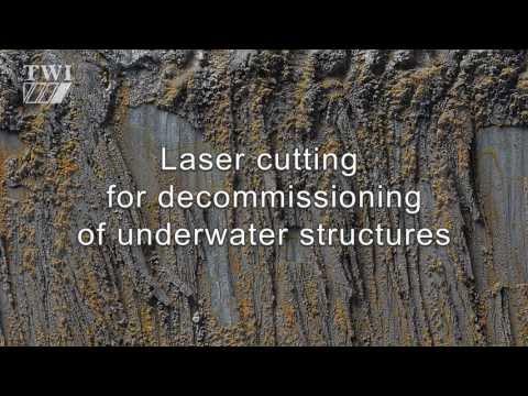 TWI - Underwater laser cutting