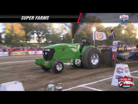 PPL 2017: Super Farms Tractors pulling in Rossville, IL
