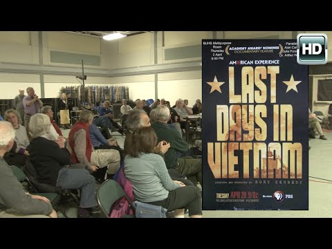 Vietnam Anniversary Screening and Panel - BUHS 4/2/15