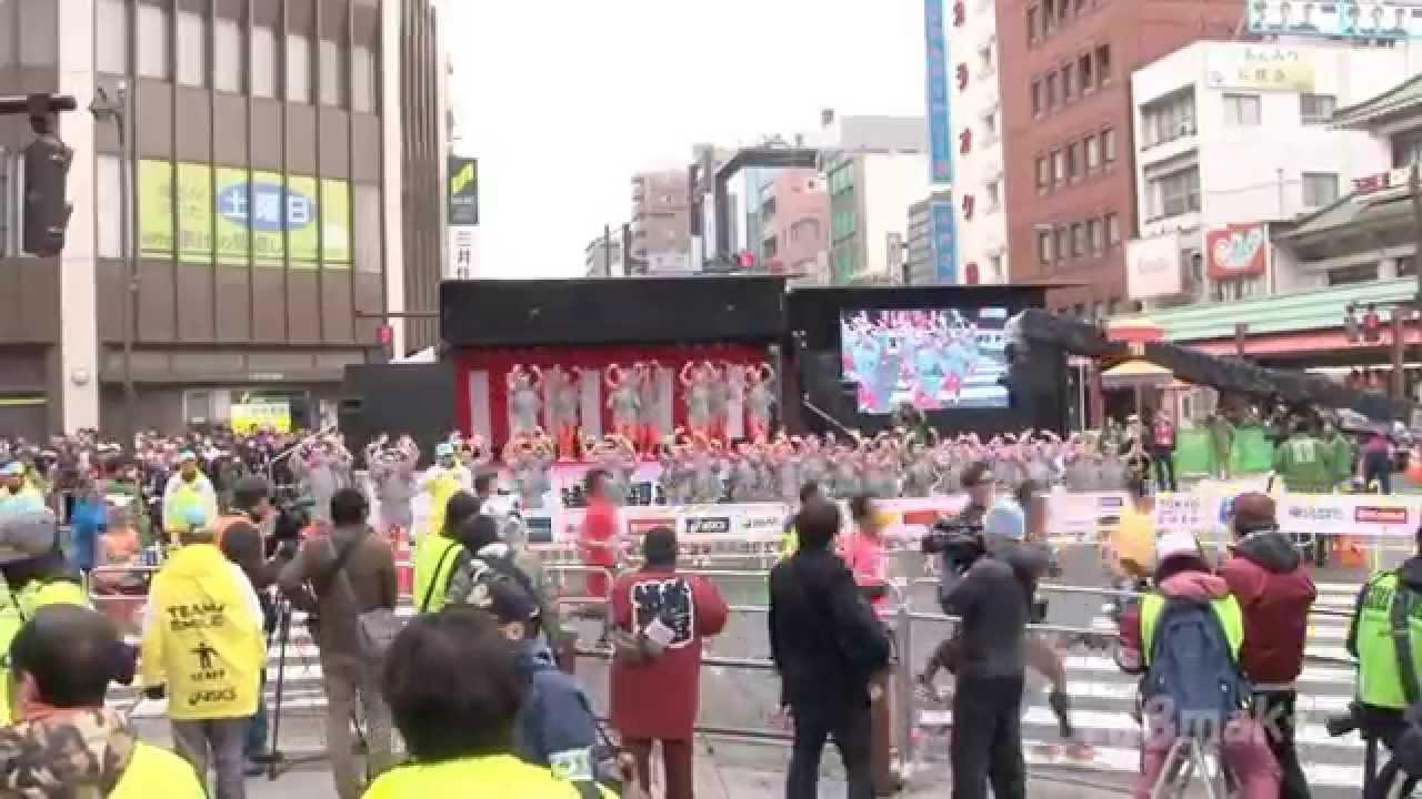 2015 東京マラソン 浅草ブロック 江戸芸かっぽれposted by nesuvislemi