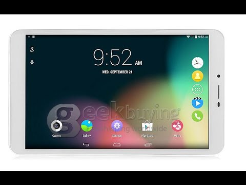 VOYO X7 8'' 3G Tablet PC Android 4.4 2GB / 16GB BT Unboxing&Review