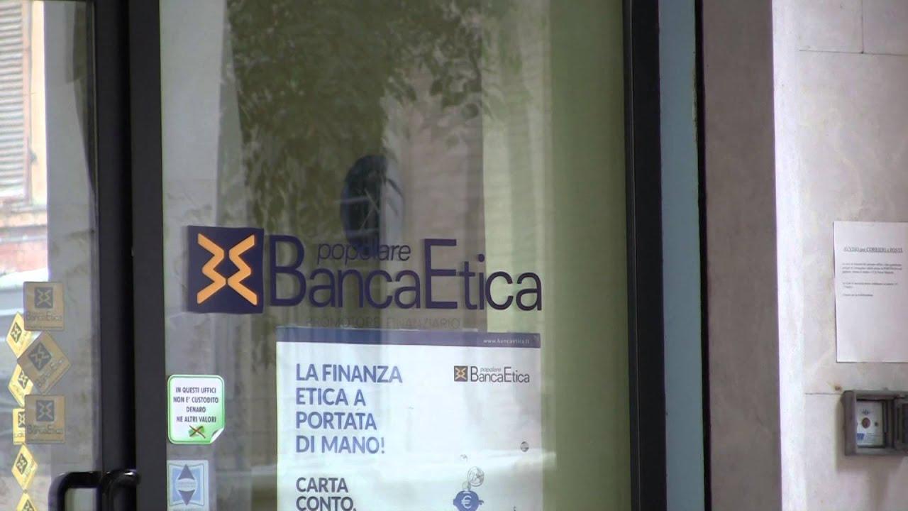 Nuovo banchiere ambulante per Banca Etica - YouTube