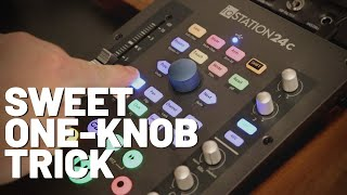 One-Knob Trick with ioStation and Faderport