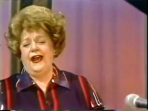 Eleanor Steber--Indian Love Call, 1977 TV Performance