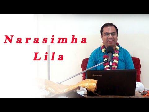 Narasimha Lila by Rasamrita Prabhu  on 3rd May 2016 at Bahrain