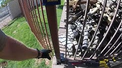 How To Repair Corroded Steel Tube Fence Posts
