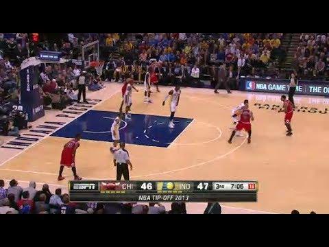 NBA Chicago Bulls vs Indiana Pacers Game Highlights November 6 2013