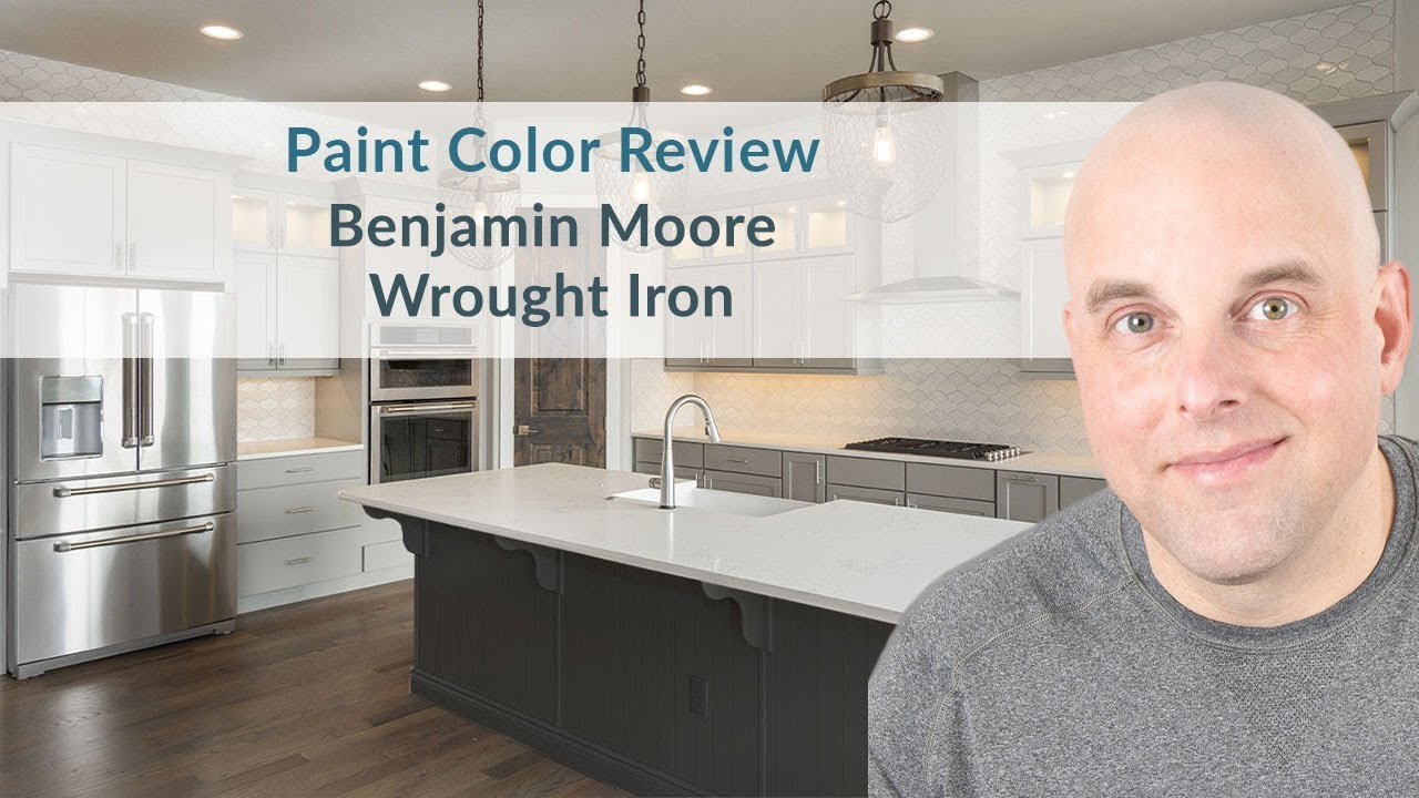 Benjamin Moore Wrought Iron Color