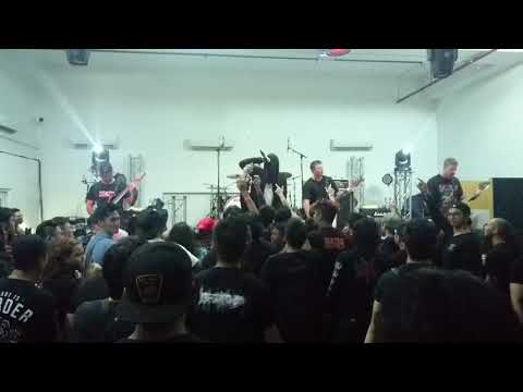 Thy Art Is Murder live in Singapore