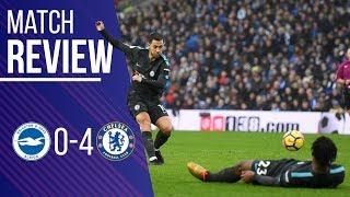 Chelsea 4-0 Brighton Match Review LIVE    Hazard seals the win!    Musonda impact    Woeful Alonso