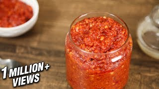 How To Make Schezwan Sauce At Home | Schezwan Sauce Recipe | The Bombay Chef - Varun Inamdar