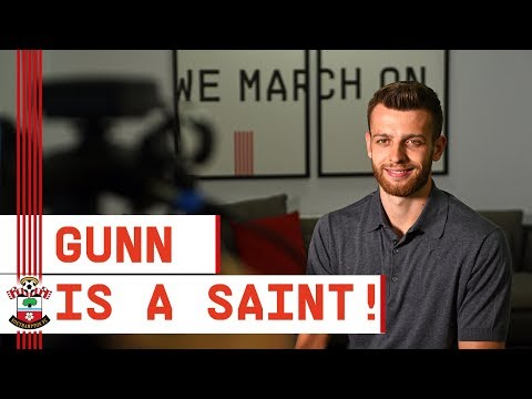 NEW SIGNING | Angus Gunn speaks after joining Saints