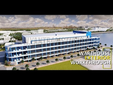 Virtual Tour of Modern Warehouse Design, Ideas Generated by Yantram 3D Walkthrough Visualization