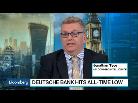 Deutsche Bank Shares Sink to All-Time Low on Danske Concern