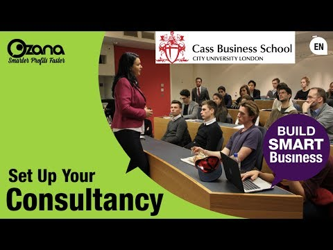 Ozana's Talk at CASS Business School on Starting Your Consulting Firm
