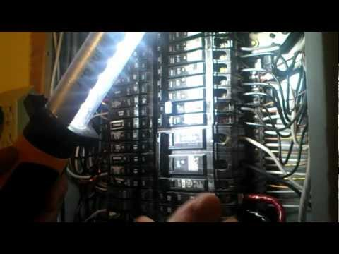 """Double Tap"" In Electrical Panel"
