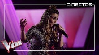 Lorena Fernandez canta 'Solamente tu' Directos La Voz Antena 3 2019
