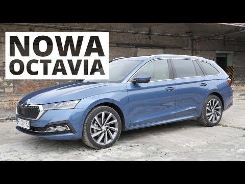 Nowa Skoda Octavia 2020 - Schodek Wyżej