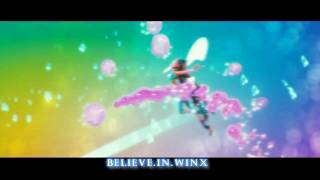 Winx Club 2:Believix 3D Transformation HD! [Rai English | Official Song!]