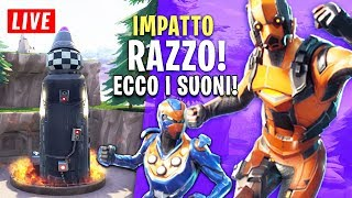 FORTNITE: LE RAZZO SI SCHIANTERÀ! ECCO LES SOUNDS! PARK Games en DIRECT - fuites SKIN!