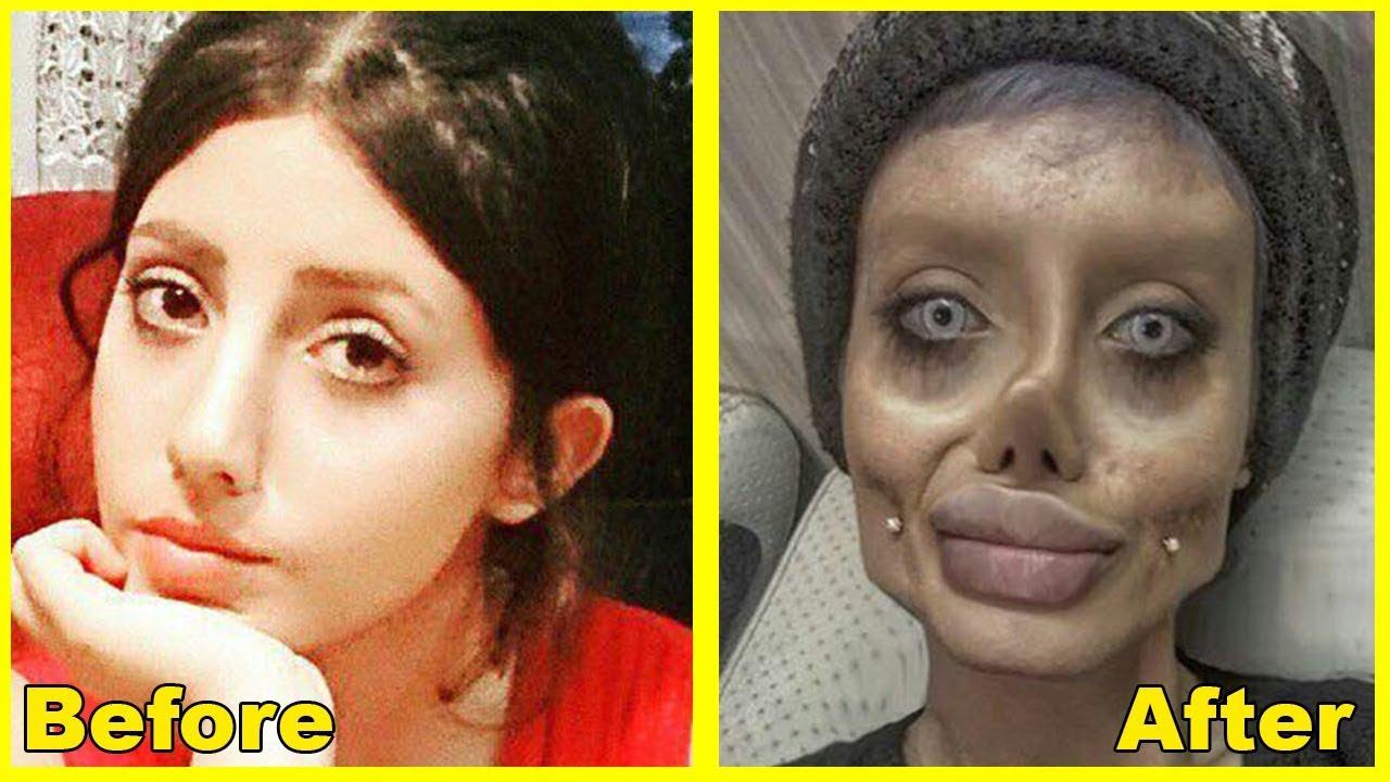 Sahar Tabar Instagram >> Sahar Tabar - Before & After Plastic Surgery | Corpse Bride - YouTube