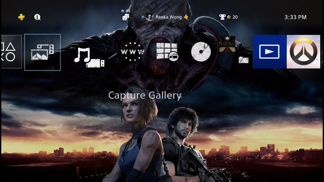 Resident Evil 3 Pre Order On Psn Includes Special Ps4 Theme