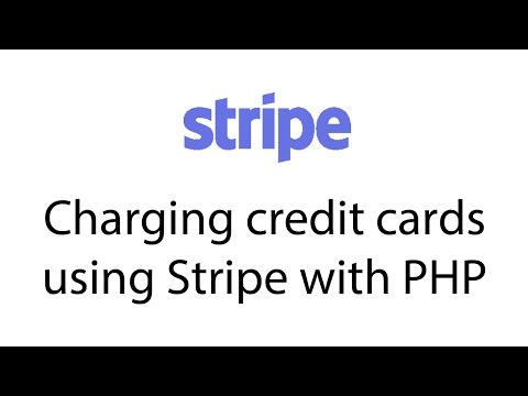 Charging credit cards using Stripe with PHP