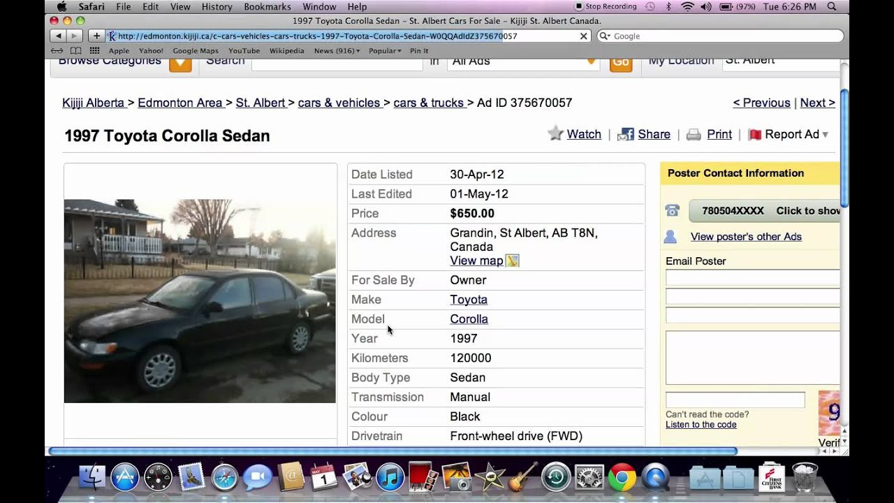 Kijiji St Albert Used Cars - Vehicles Under $1500 Available Through ...