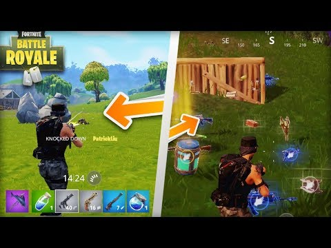 Fortnite Mobile - 7 BIGGEST Differences Between IPhone Vs. PC / PS4 / Xbox One