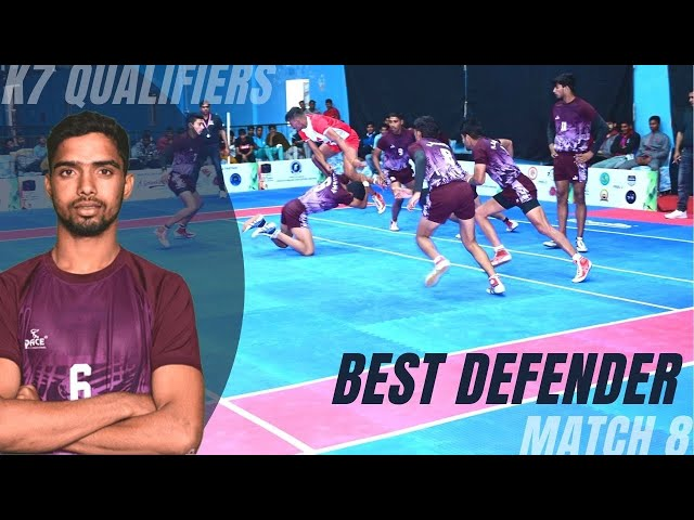 Best Defender Rohit with his brilliant Thigh Hold Skill   High 5   NK Academy   K7 Qualifiers