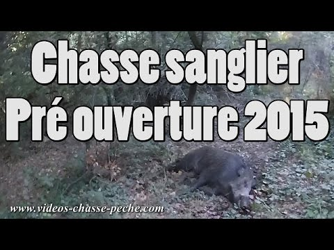 Chasse Sanglier, Pré Ouverture 2015 - Drift HD Ghost S
