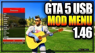 GTA 5 ONLINE USB MOD MENU TUTORIAL ON PS4/XBOX ONE/XBOX 360/PS3 HOW TO INSTALL USB MODS NO JAILBREAK