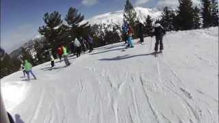 Bansko Ski 2012 [HQ](Reverse's first video skiing in Bansko, Bulgaria. Reverse is made up of 6 boys from Wales - Zak Morgan, Matthew Brown, George Hart, Keanen Davies, Ben ..., 2012-02-28T00:31:52.000Z)