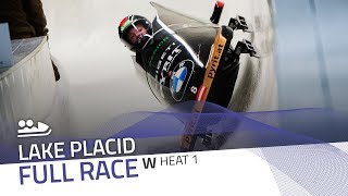Lake Placid | BMW IBSF World Cup 2019/2020 - Women's Bobsleigh Heat 1 | IBSF Official
