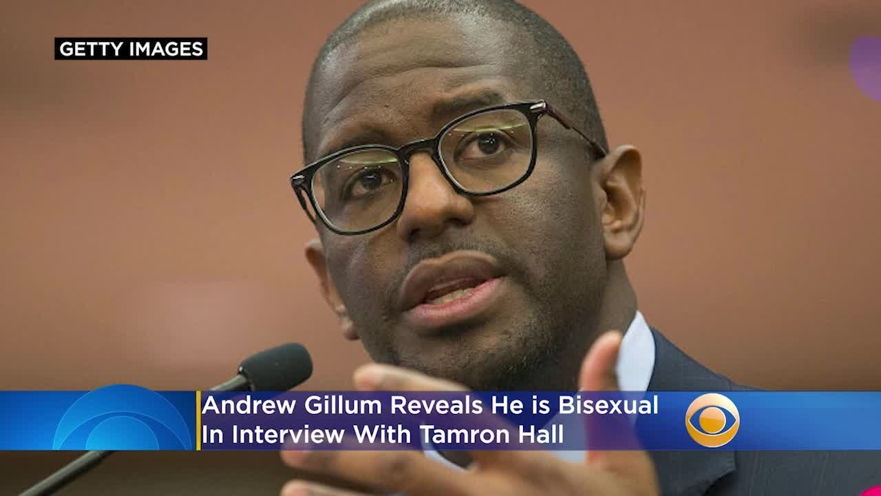 Andrew Gillum: 'I don't identify as gay, but I do identify as bisexual'