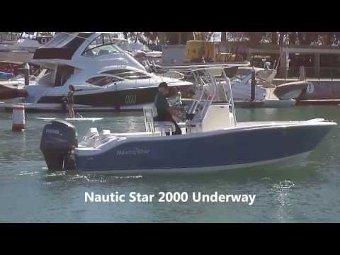 Nautic Star 2000 Offshore Center Console Underway by South MountainYachts