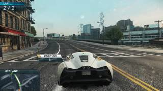 Need For Speed Most Wanted 2012:- Cruise Control with Marussia B2