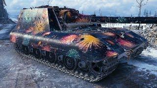 Jagdpanzer E 100 - STRONG BOSS - World of Tanks Gameplay