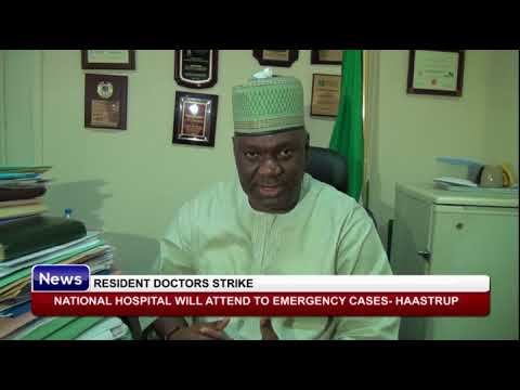 RESIDENT DOCTORS STRIKE: National hospital will attend to emergency cases- Haastrup